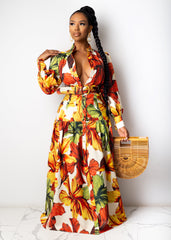 Girl Talk Maxi Dress