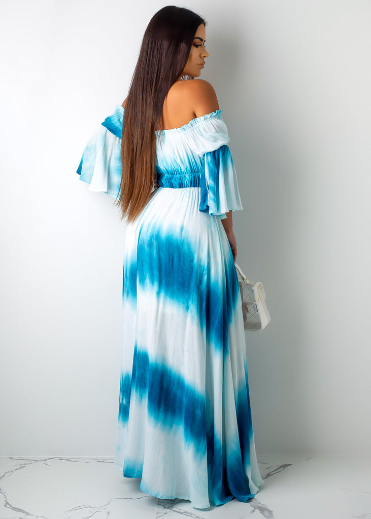 Waves Maxi Dress