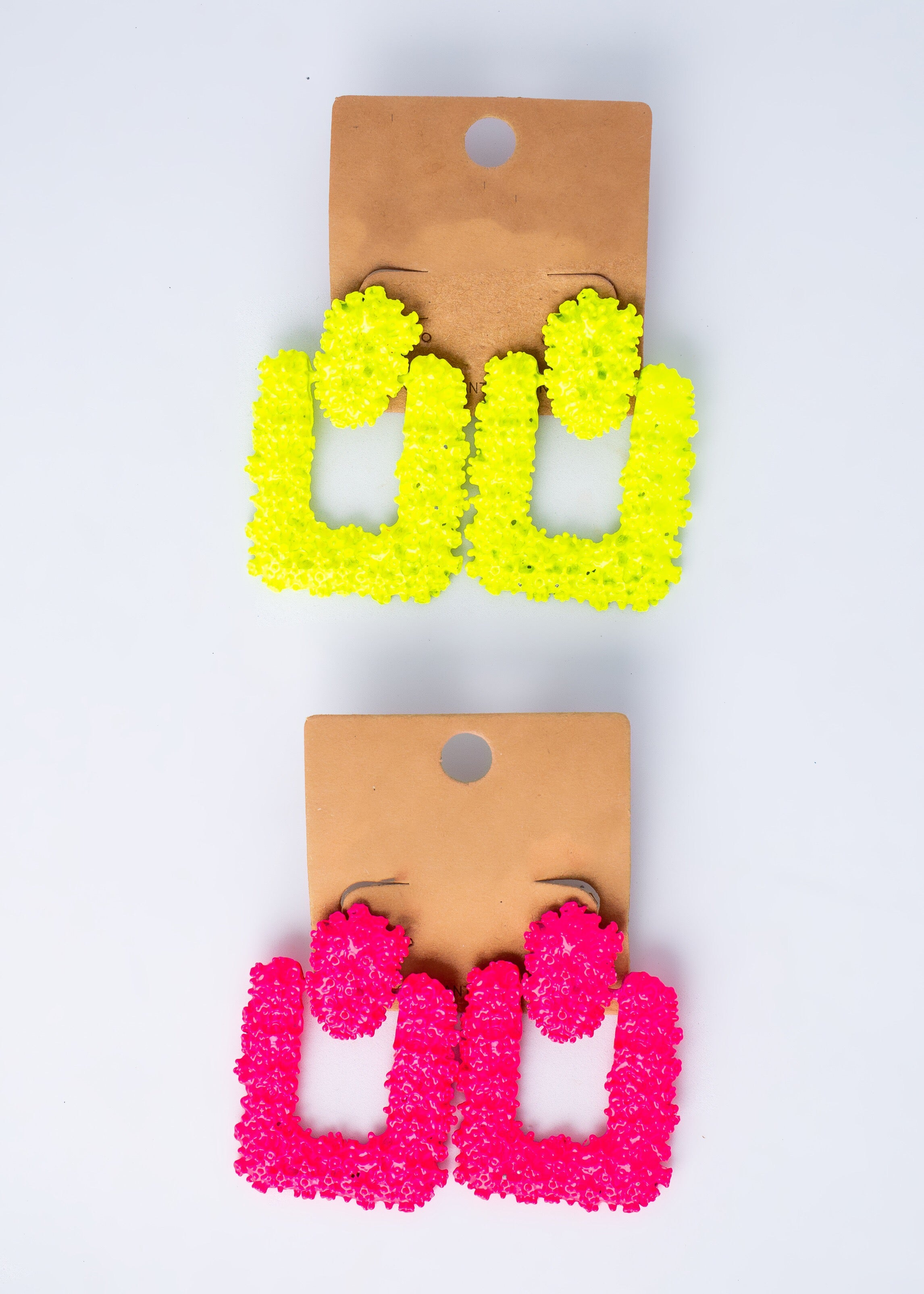 Go-To Square Brick Earrings