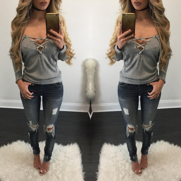 Giselle Distressed Jeans - Diva Boutique Online - 1