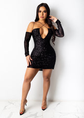 A Night To Remember Mini Dress