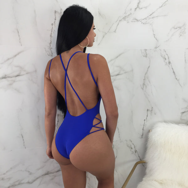 Ashley Cris-Crossed One Piece Swimsuit
