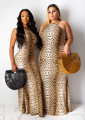 I'm A Cheetah Girl Maxi Dress