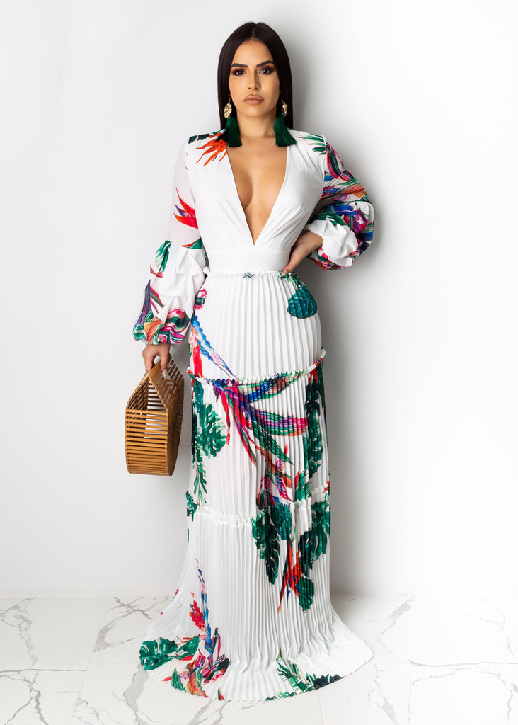 Dinner By The Beach Maxi Dress