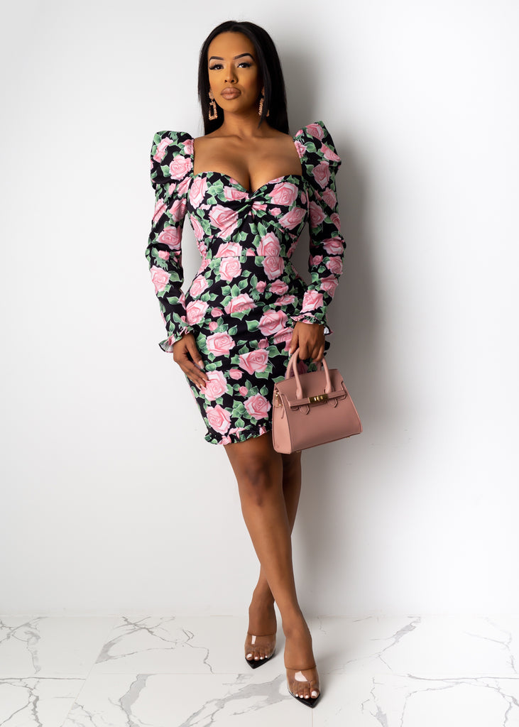 Dose of Roses Mini Dress