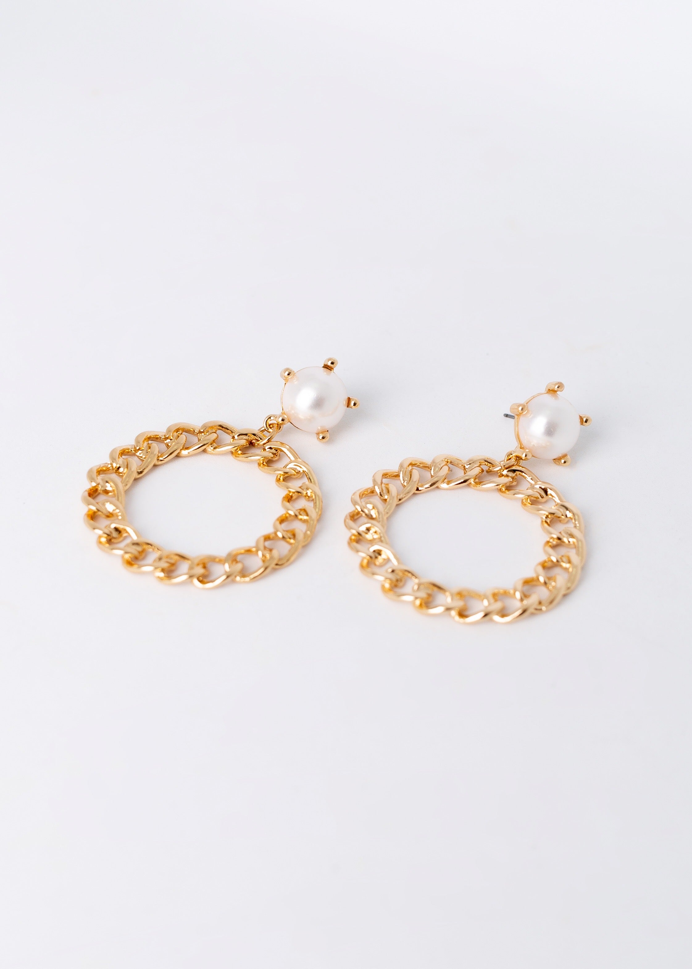 Over The Top Pearl Earrings