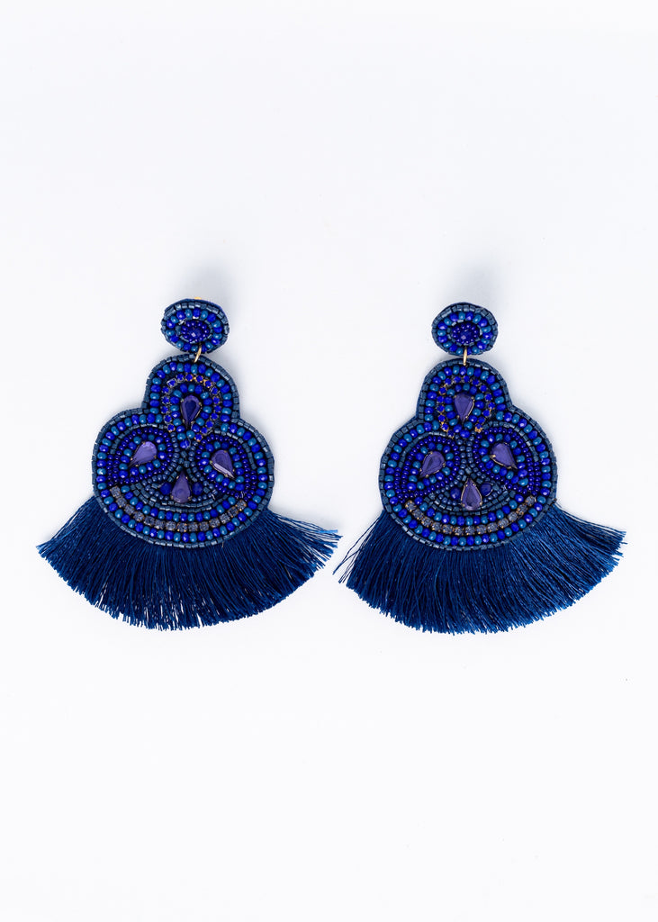 Cool Breeze Fringe Earrings