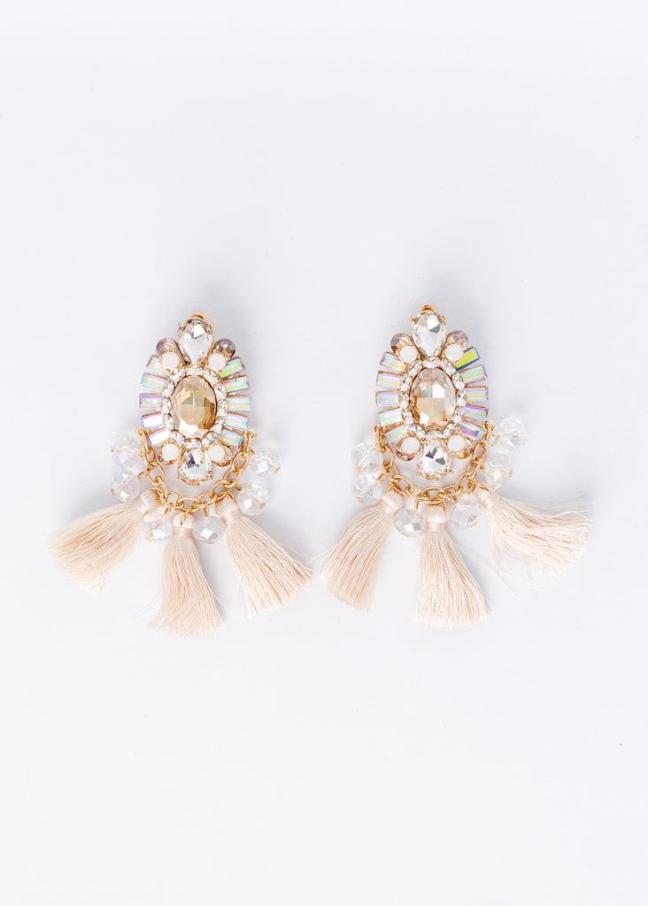 Feeling Lucky Fringe Earrings