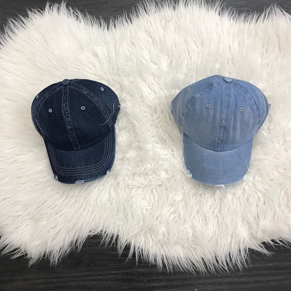 Denim Caps - Diva Boutique Online