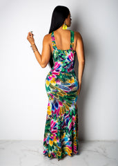 Rainforest Maxi Dress
