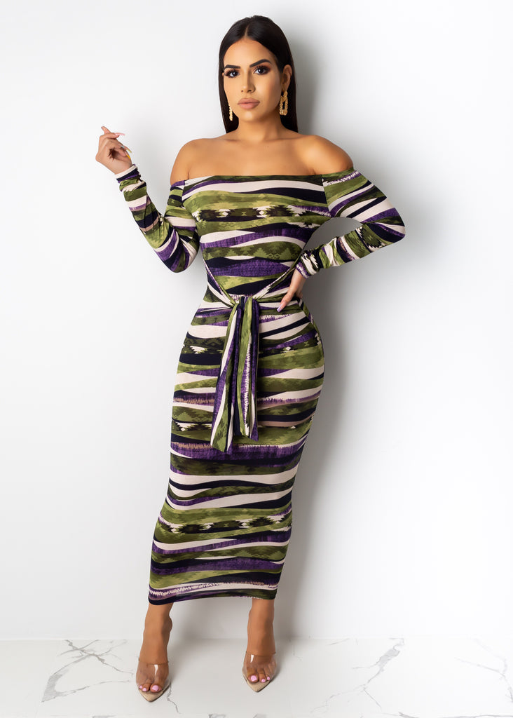 Good Vibes Everyday Midi Dress