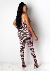 Ruffle Some Feathers Jumpsuit