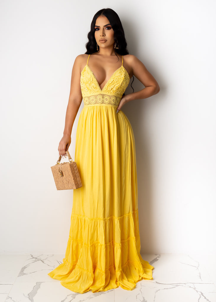 Forgetting The Rules Maxi Dress