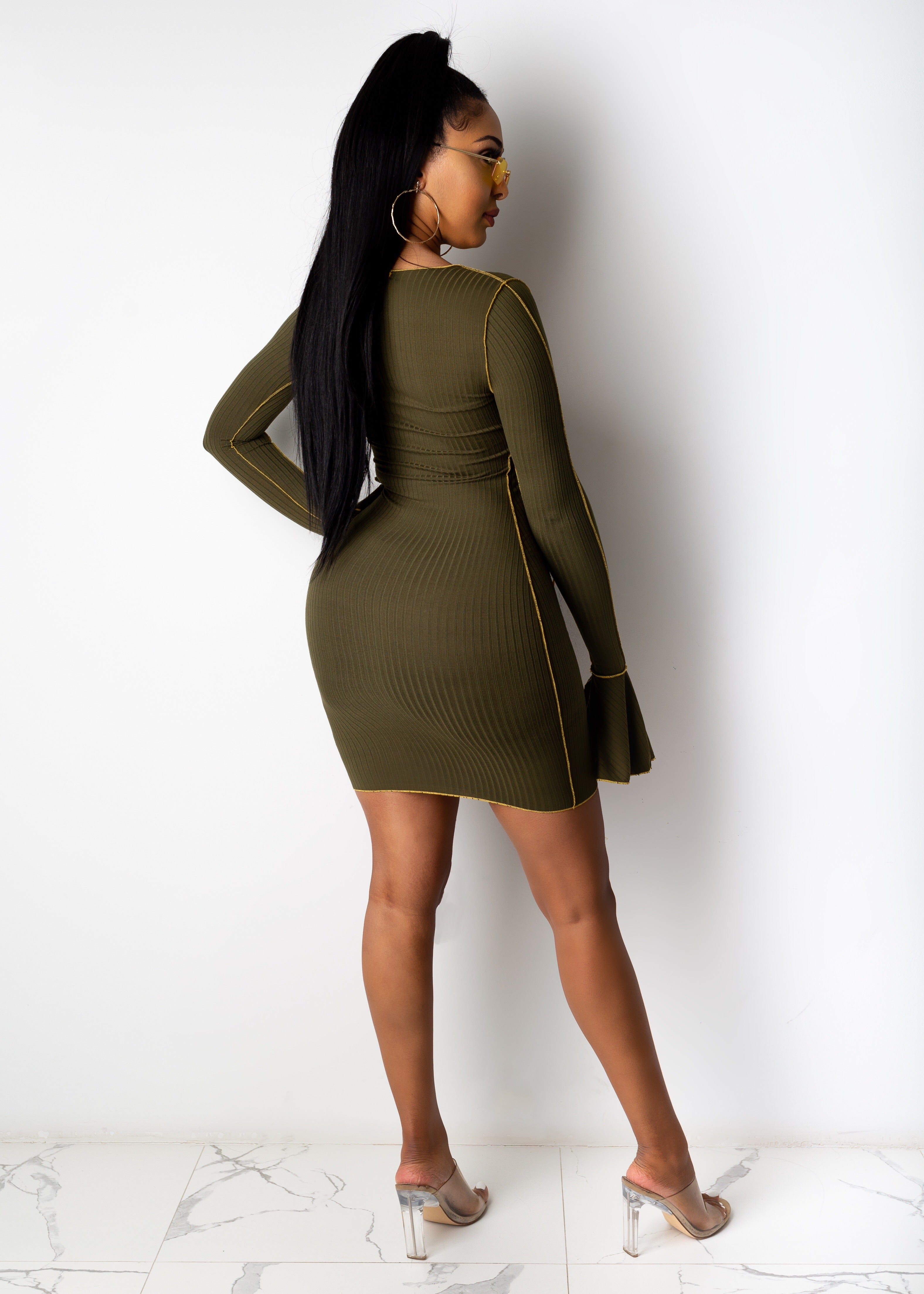 Work Things Out Mini Dress