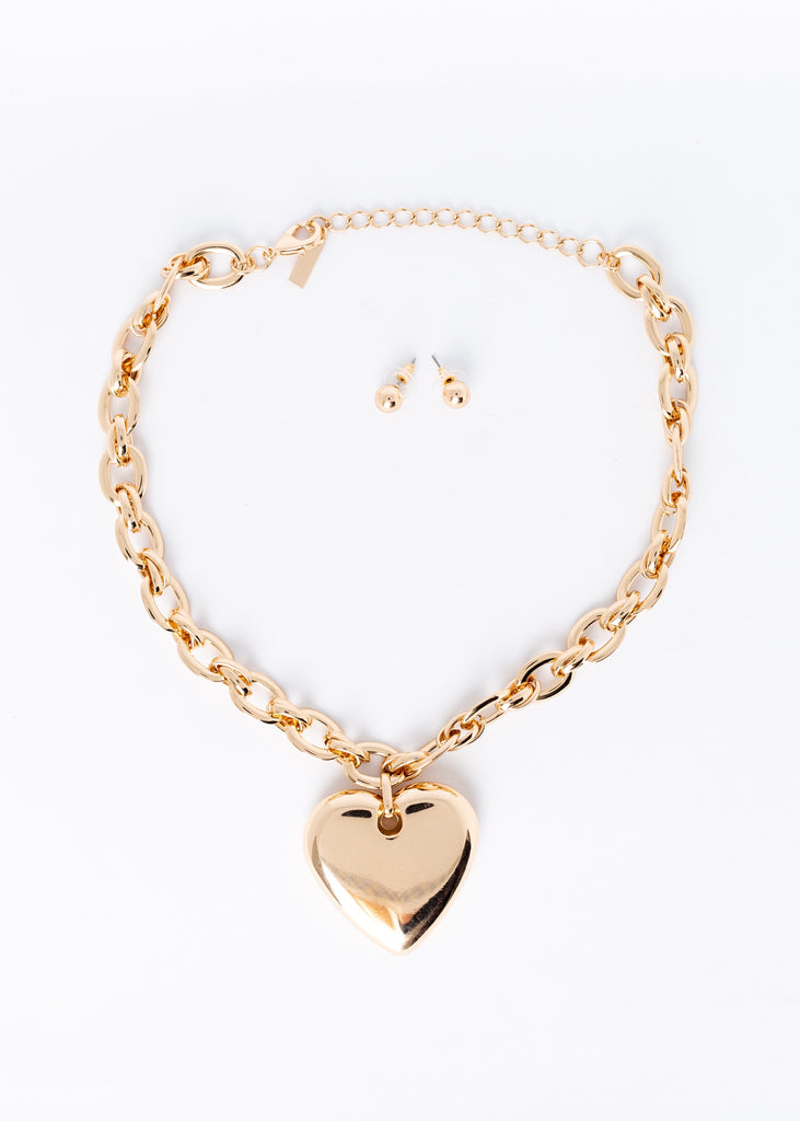 They Say I'm Heartless Necklace