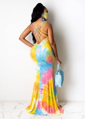 Showing You Up Maxi Dress