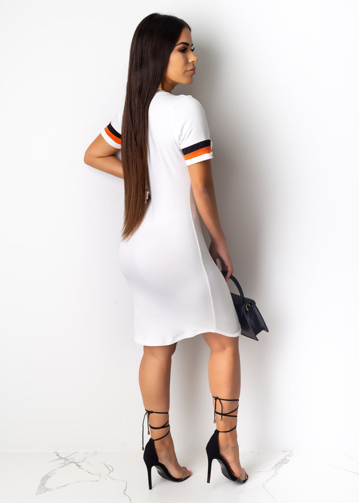 The Wild Side Midi Dress