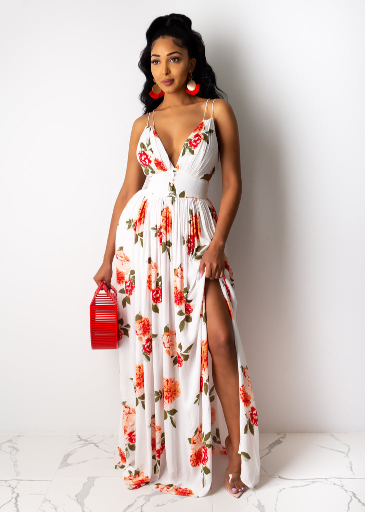 Watch Me Walk Away Maxi Dress