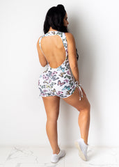 All Set Up Butterfly Romper