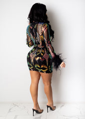 Lovely Spell Mini dress