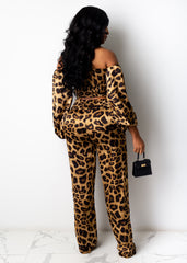Walk On The Wild Side Pant Set