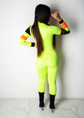 I Grip The Mic Neon Jumpsuit