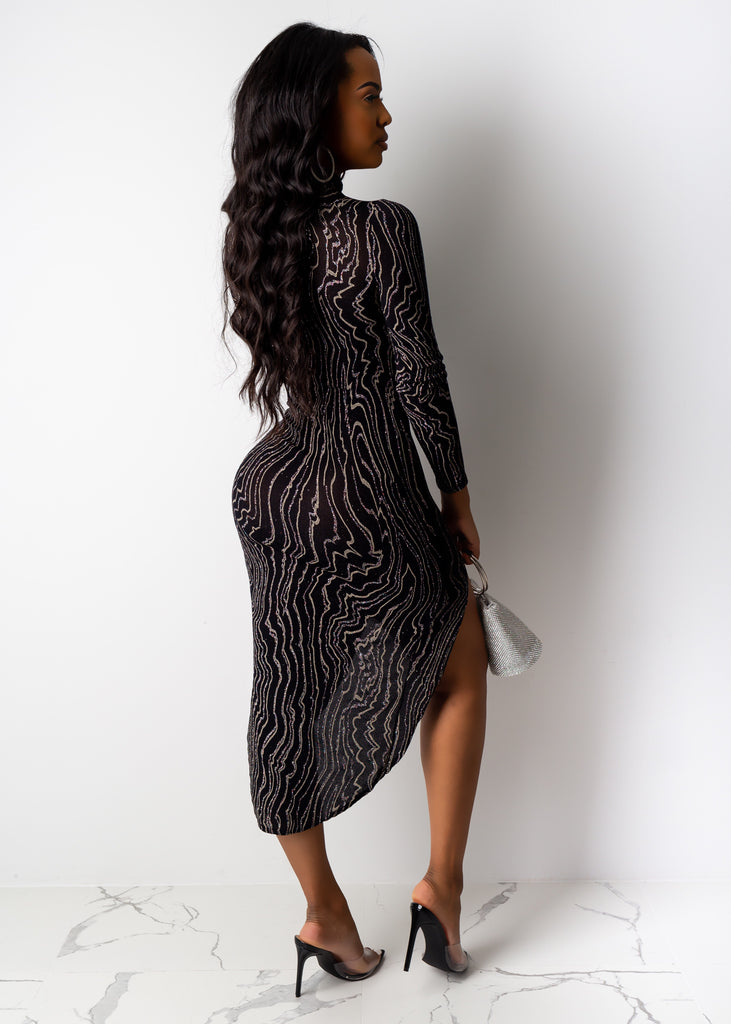 One Thought Midi Dress