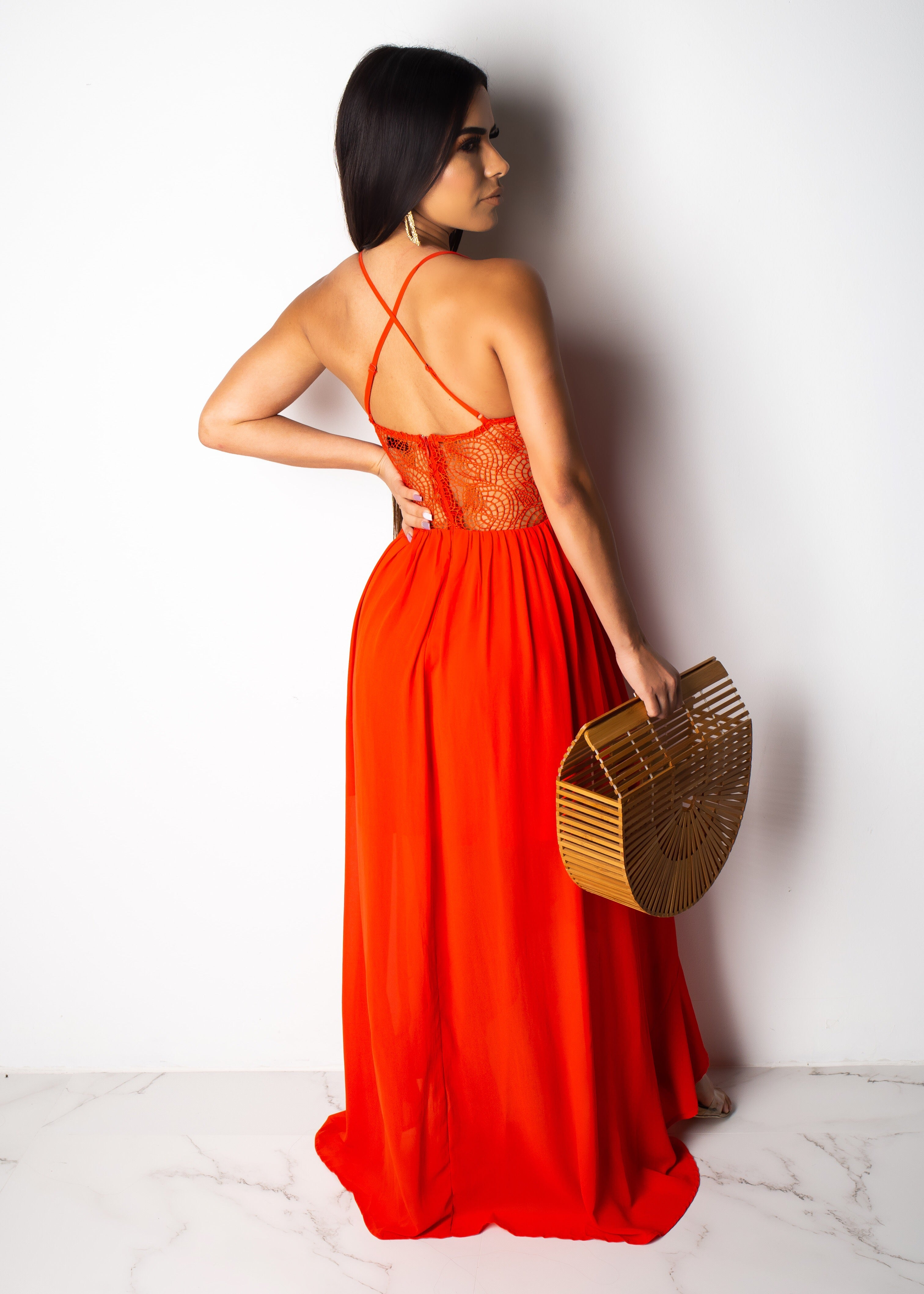 Catch The Glow Maxi Dress