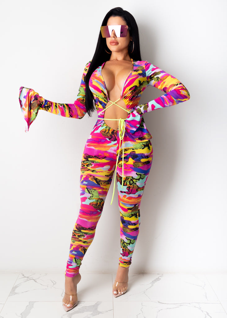 A Work Of Art Jumpsuit