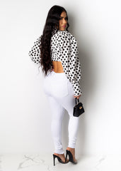 Wanna Know You Polka Dot Top