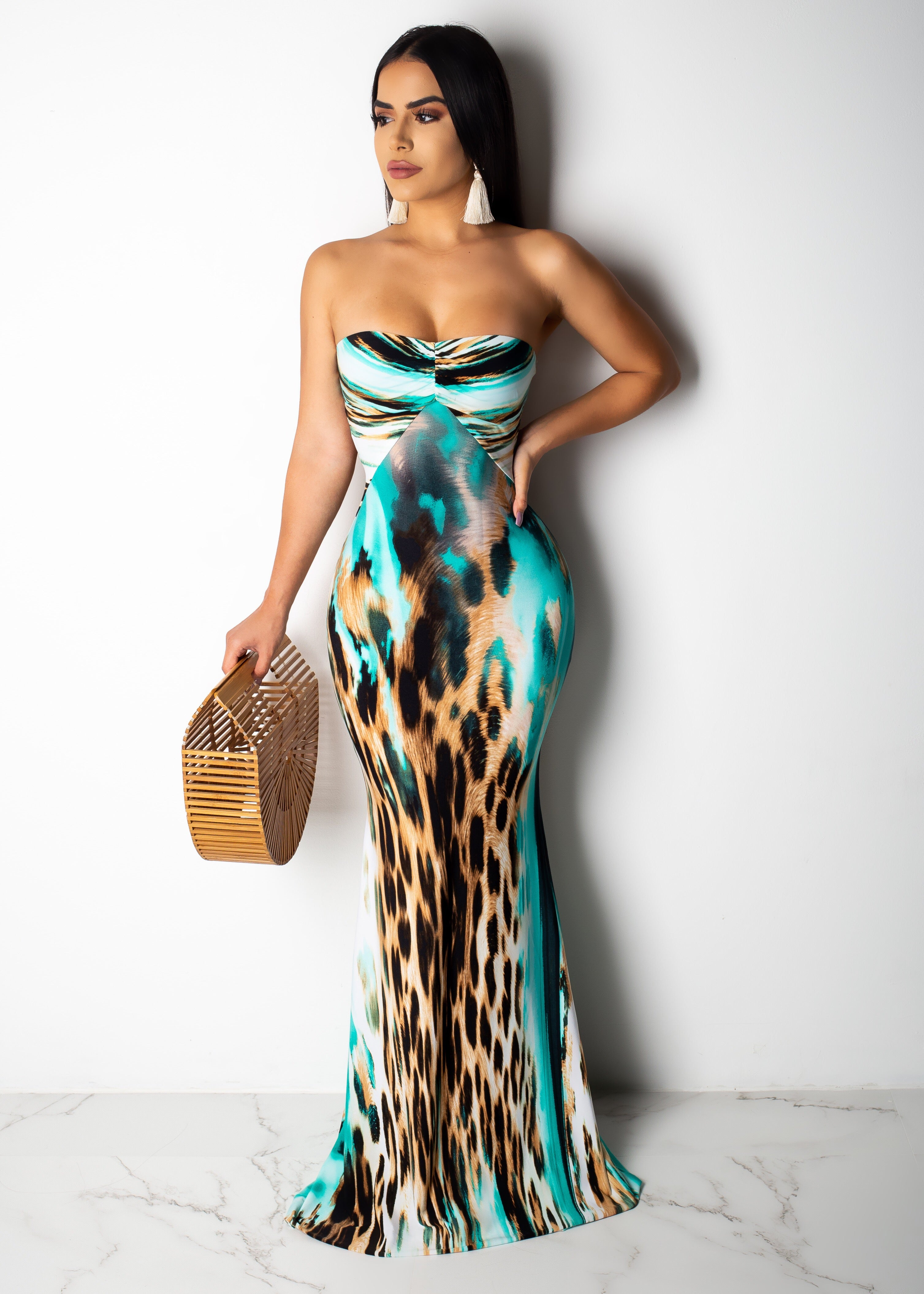 Flowing Me Out Maxi Dress