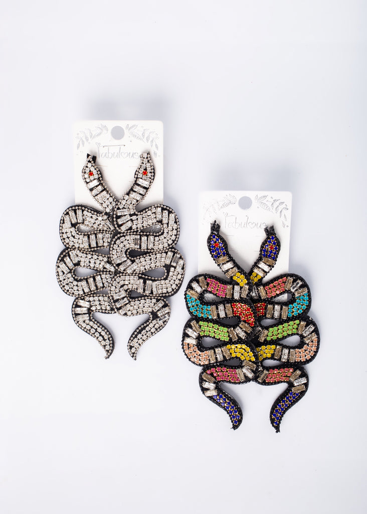 Lethal Snake Earrings
