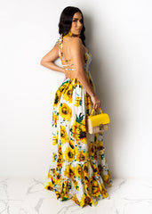 Sun Goes Down Maxi Dress
