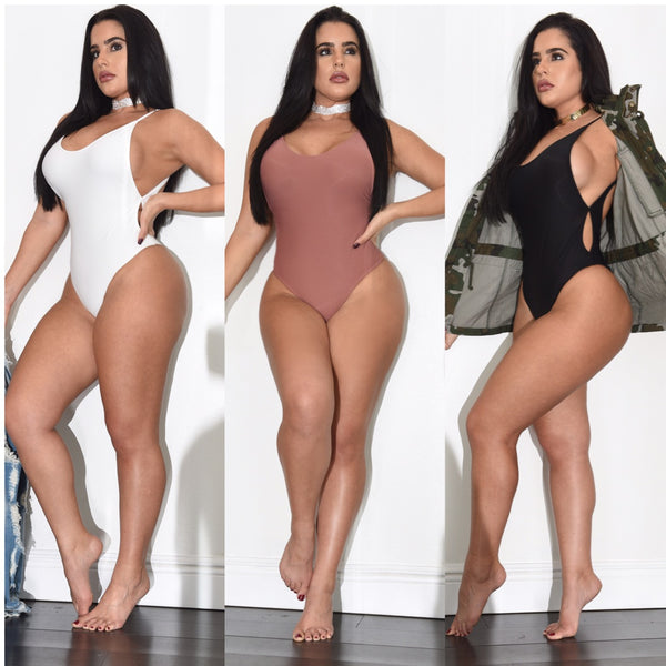 Tamara Lowback Bathing Suit / Bodysuit - Diva Boutique Online - 1