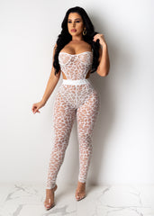 Catch Me Later Mesh Jumpsuit