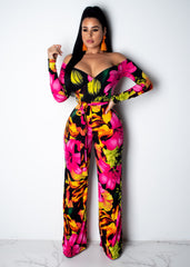 Dark Flower Jumpsuit