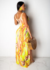 Swerving On You Maxi Dress Cover Up
