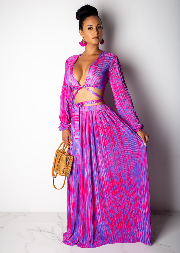 Rising Diva Skirt Set