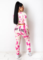 Savage Behavior Pant Set