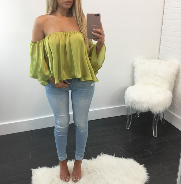 Bridgette Off the Shoulder Top