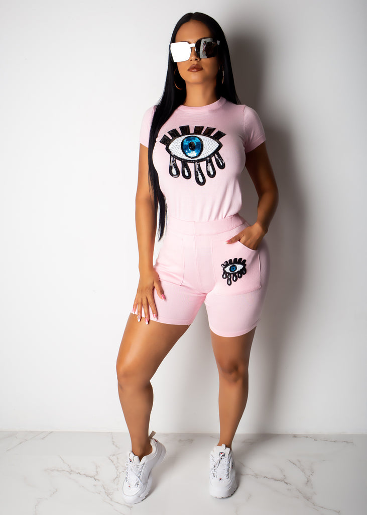 Eye Spy Short Set