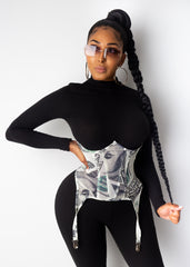All About The Money Corset