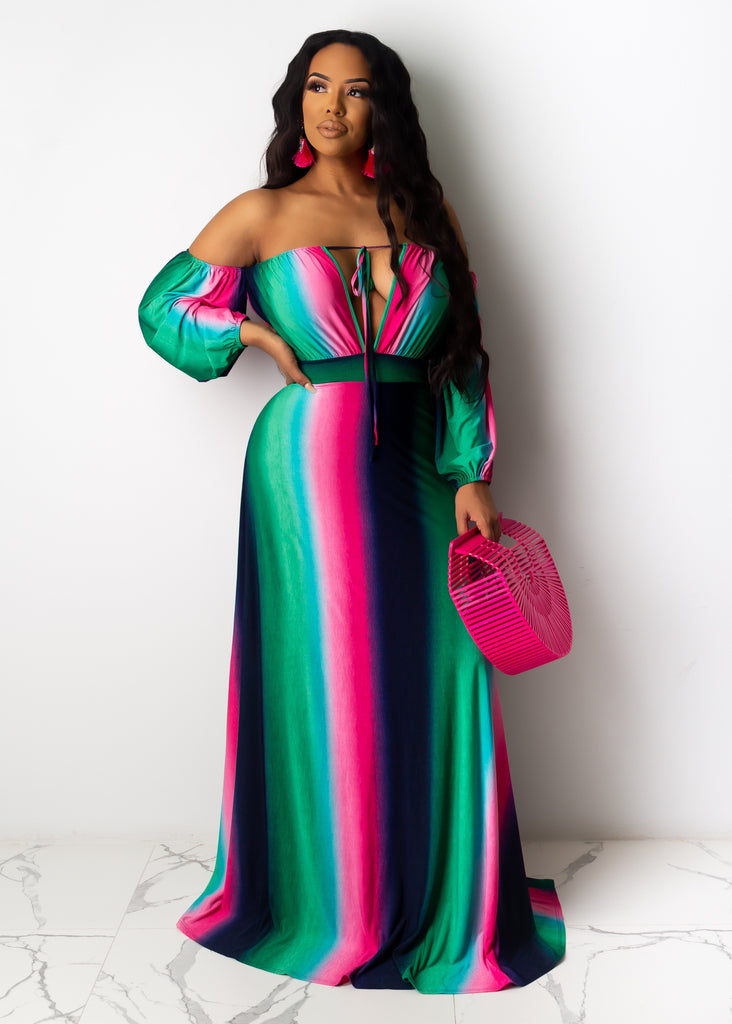On Top Of Things Maxi Dress