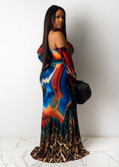 Make It Fast Maxi Dress