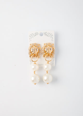 Lion Bling Earrings