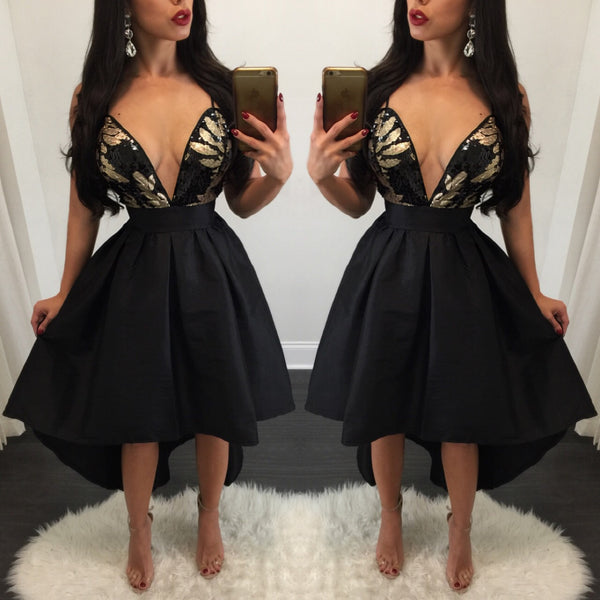Roxie Sequin Top Flared Midi Dress - Diva Boutique Online - 2