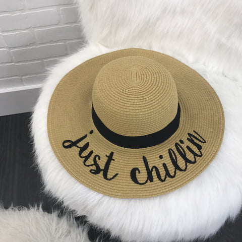 Just Chillin' Sun Hat