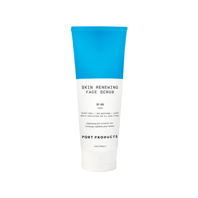 Skin Renewing Face Scrub - Port Products - Men's Shaving, Skincare, Grooming