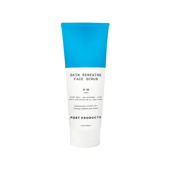 Skin Renewing Face Scrub - Port Products - Men's Shaving and Skincare