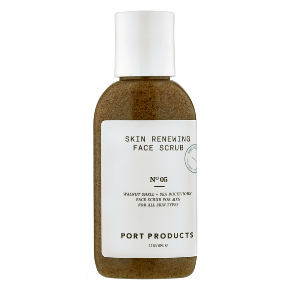 Skin Renewing Face Scrub (Travel Size) - Port Products - Men's Shaving, Skincare, Grooming
